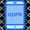 Mobile Gdpr Phone Gdpr Smartphone Icon