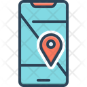 Mobile Geo Localization Mobile Geo Icon