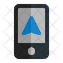 Mobile GPS Icon