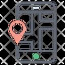 Mobile Location Map Location Pin Location Icon