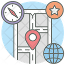 Mobile Gps Smartphone Location Live Location Icon