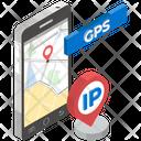 Mobile Gps Mobile Navigation Mobile Location Icon