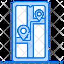 Mobile Gps Mobile Navigation Geolocation Icon