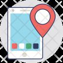 Mobile GPS Icon