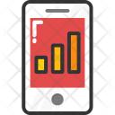 Mobile Graph Android Icon
