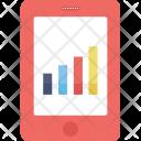 Mobile Graph Icon