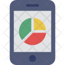 Mobile Graph Analytics Icon