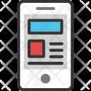 Mobile Graphics Icon