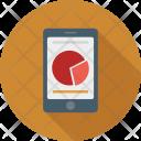 Mobile Graphs Pie Icon