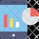 Mobile Graphs Icon