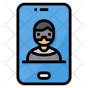Mobile Hacker Icon