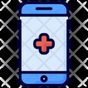 Mobile health Icon