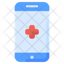 Mobile Health Online Medical Services Icon