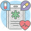 Mobile Health Medical Services Digital Health Icon