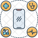 Mobile Healthcare Mobile Healthcare Icon