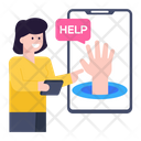 Help Mobile Help Online Help Icon