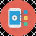 Mobile Hierarchy Icon