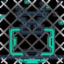 Mobile Holder Icon