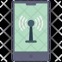 Wifi Signal Antenna Icon