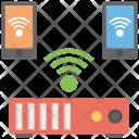 Internet Mobile Hotspot Icon