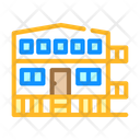 Mobile House Stilts Icon