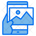 Mobile Technology Content Icon