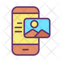 Mobile Image Location Icon