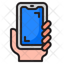 Mobile In Hand Icon