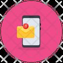 Mobile Inbox New Message Unread Message Icon