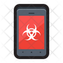 Mobile infection Icon