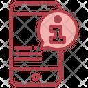Mobile Info Mobile Information Mobile Alert Icon