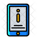Mobile Information Mobile Info Information Icon