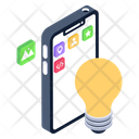 Mobile Innovation Mobile Idea App Innovation Icon