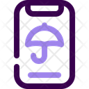 Mobile Insurance Icon