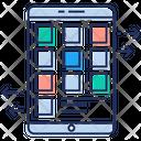 Mobile Interface Mobile App Menu Mobile Navigation Icon