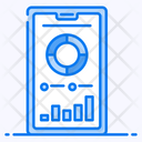 Mobile Interface Online Data Mobile Analytics Icon