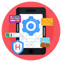 Phone Settings Mobile Interface App Settings Icon