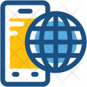 Mobile Internet Icon