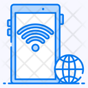 Mobile Internet Connected Device Mobile Wifi Icon