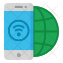 Smart Phone Internet Icon