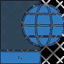 Mobile Internet Mobile Browser Internet Icon