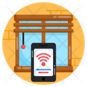 Mobile Internet Mobile Wifi Connected Mobile Icon