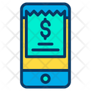 Mobile Invoice Bill Icon