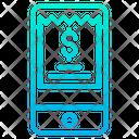 Mobile Invoice Bill Icon