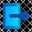 Mobile key Icon