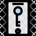 Mobile Key Mobile Private Icon