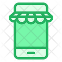 Mobile Kiosk Boutique Icon