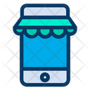 Mobile Kiosk Boutique Icon