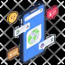 Mobile Language Translation Icon