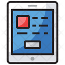 User Interface Mobile Layout App Design Icon